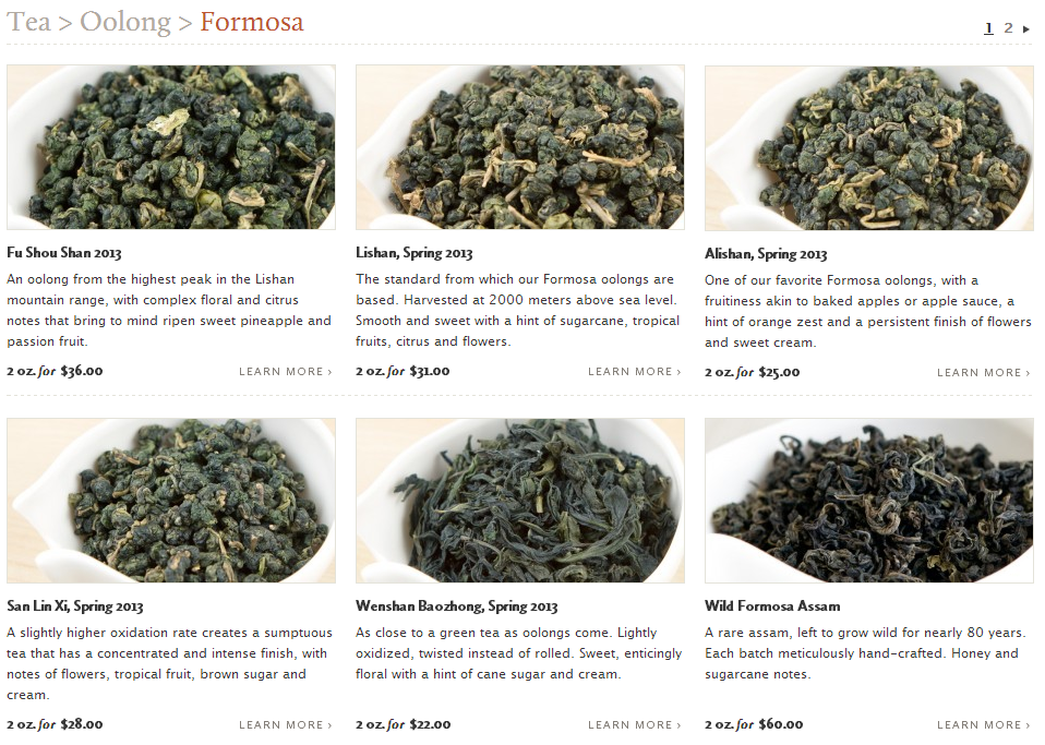 Red Blossom Tea Formosa Oolong