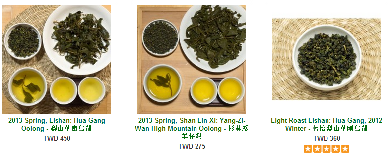Origin Tea Offerings