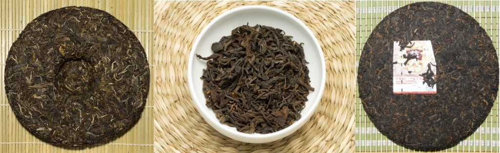 Young Raw Pu'erh, Aged Raw Pu'erh, Ripe Pu'erh. Source: Origin Tea, White2Tea.