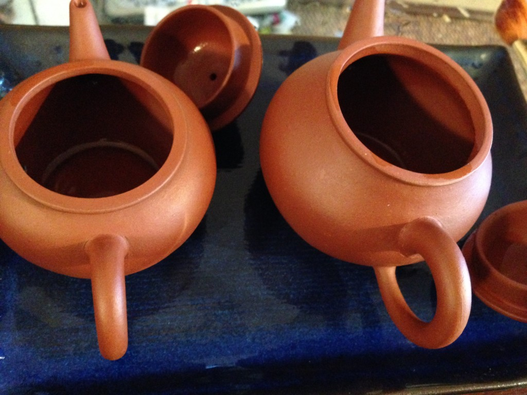 Aged Oolong Pots