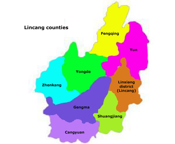 Lincang Counties