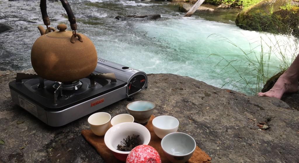 Tumalo Creek. A nice place to drink tea.