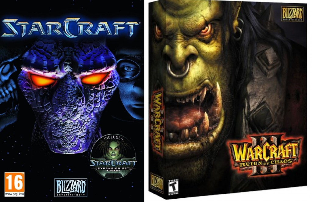 Starcraft, Warcraft 3