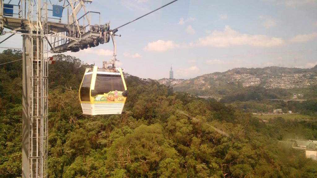 Gondola to Maokong