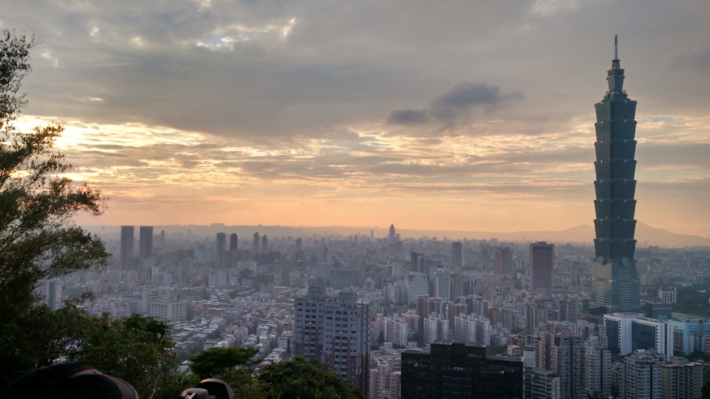 Taipei from Elephant Mountain