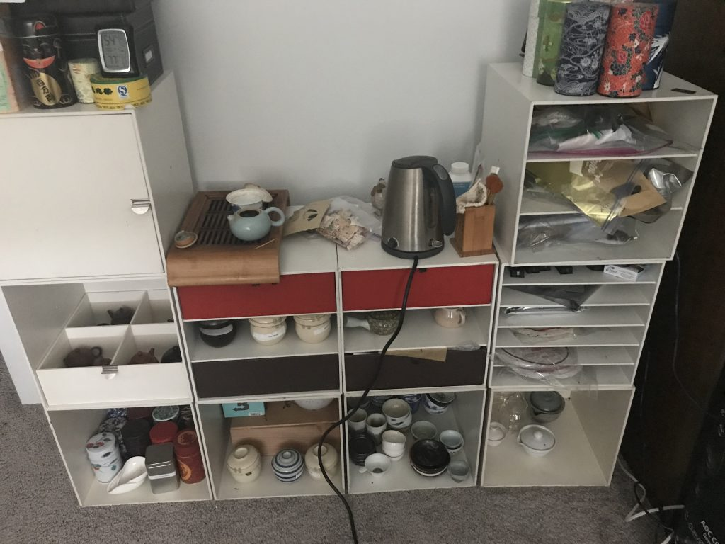 New Tea Setup