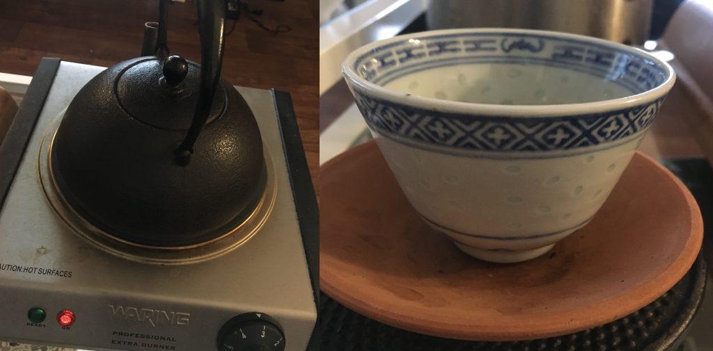 Tetsubin & Cup