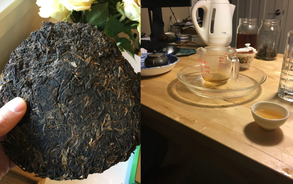 Traditionally Stored Tea